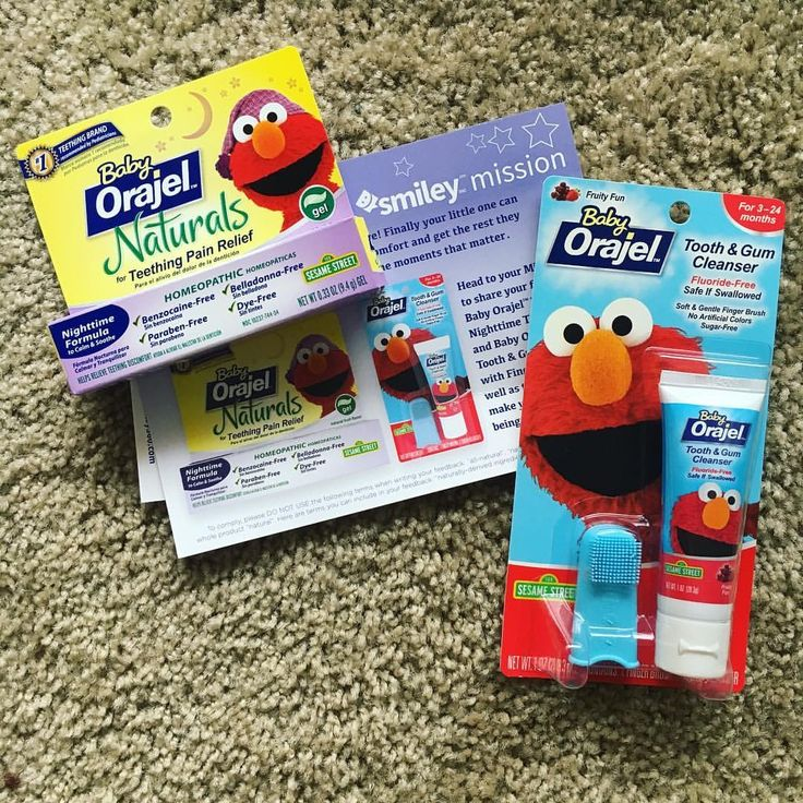 Love this toothpaste and brush and the baby does too! #BabyOrajelNaturals #FreeSample
