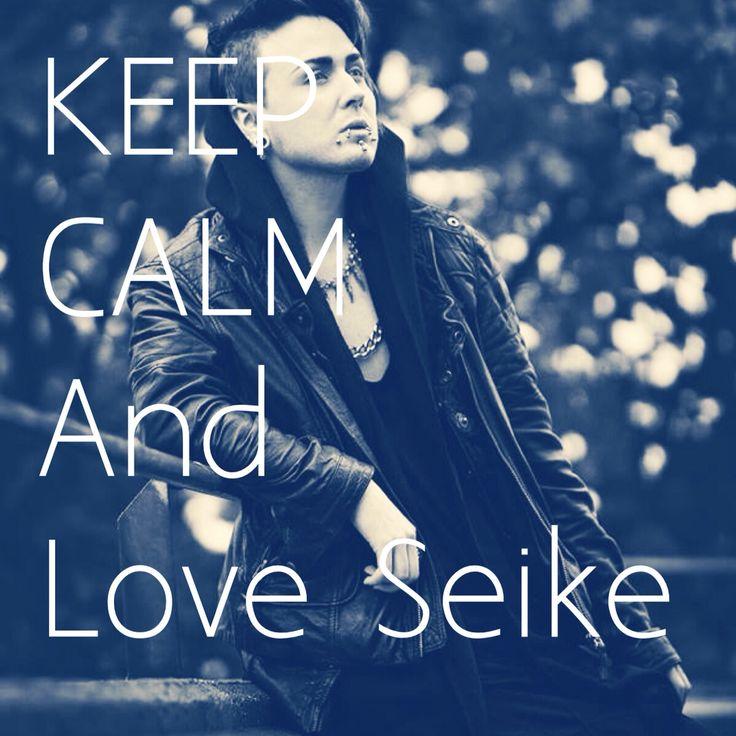 KEEP CALM And Love Seike
