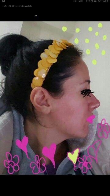 Çılgın Sarı pullu Yaz Sezonu Taç modelimiz  #tac #taç #aksesuar #accessories #aksesuarlar #aksesuaraskina #headpiece #headpieces #hairaccessories #hairpiece #hairband #sacaksesuari #saçaksesuarı