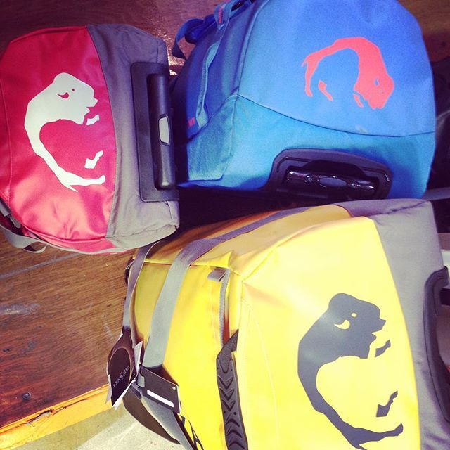 These #Tatonka bags are perfect for #traveling they come in all different sizes and colours, can't get enough of them!