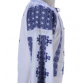 Romanian Authentic Embroidered Blouse - CUSTOM MADE ONLY