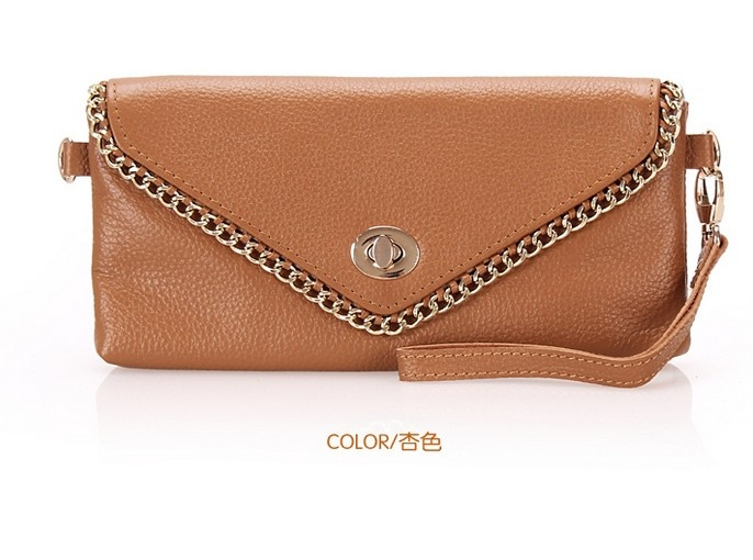 High quality New Fashion Design Genuine Leather Lady wallet    Price: $39.00