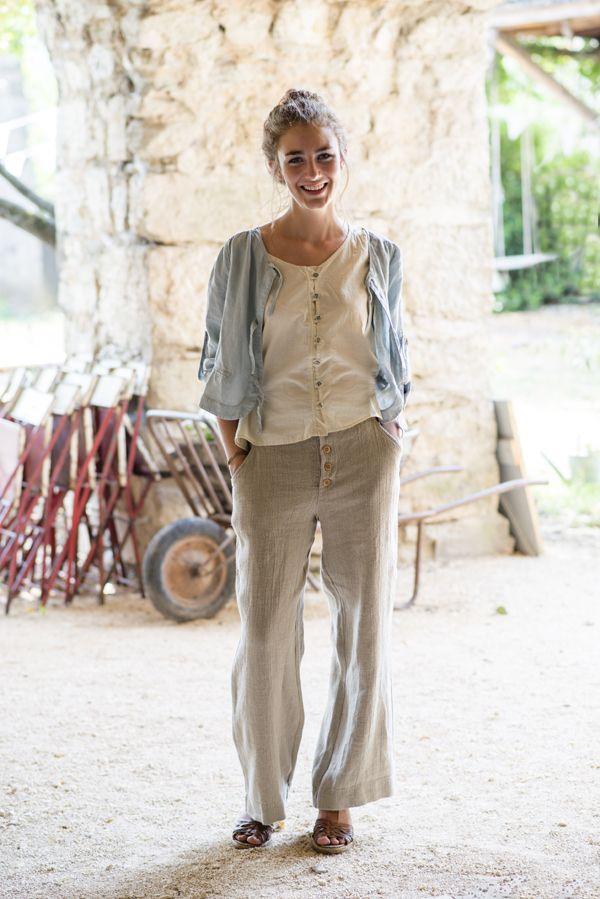 Inge de Jonge, une marque de vêtements Française, Tissus Européen