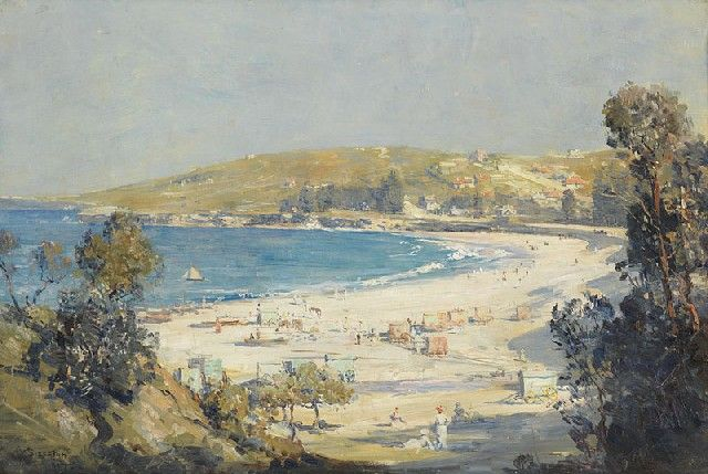 The Blue Pacific (also know as The Ocean at Coogee) by Arthur Streeton