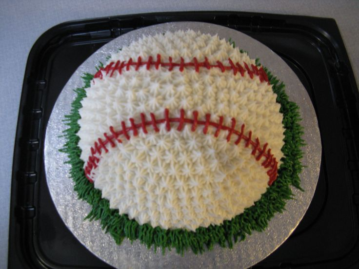 Baseball Smash Cake Weird Shadow On Cake From Picture