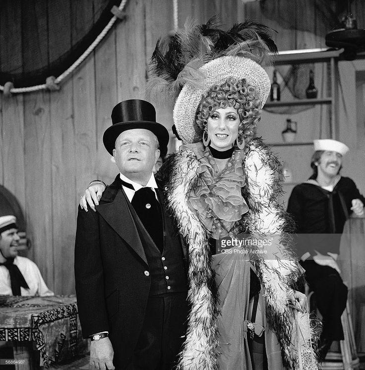 Truman Capote and Cher