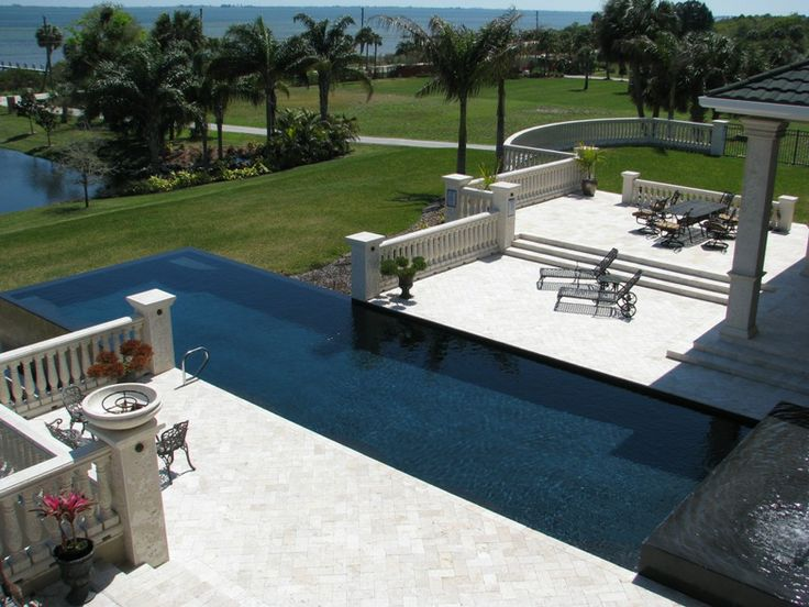 31 best images about pool design on pinterest seasons for Infinity pool ideas