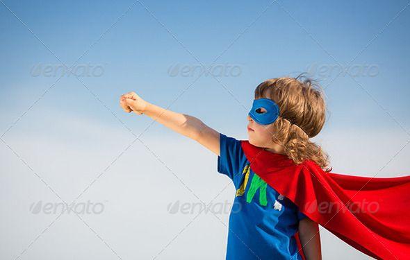 Superhero kid - Stock Photo - Images
