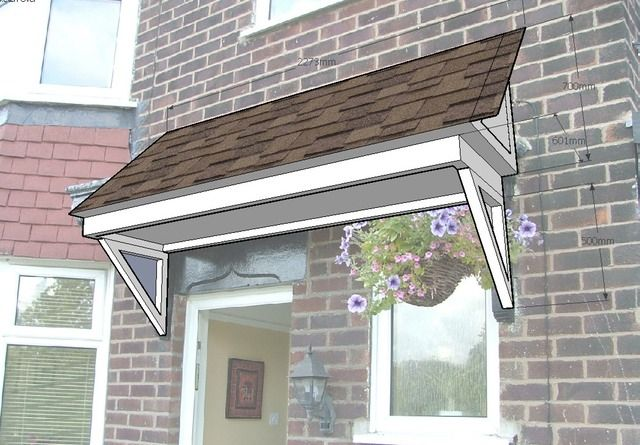 Porch Roof Designs | This Porch Roof Was Designed To Replace The Rotten  Flat Roof. Timber ... | Shed | Pinterest | Porch Roof, Porch And Roof Design