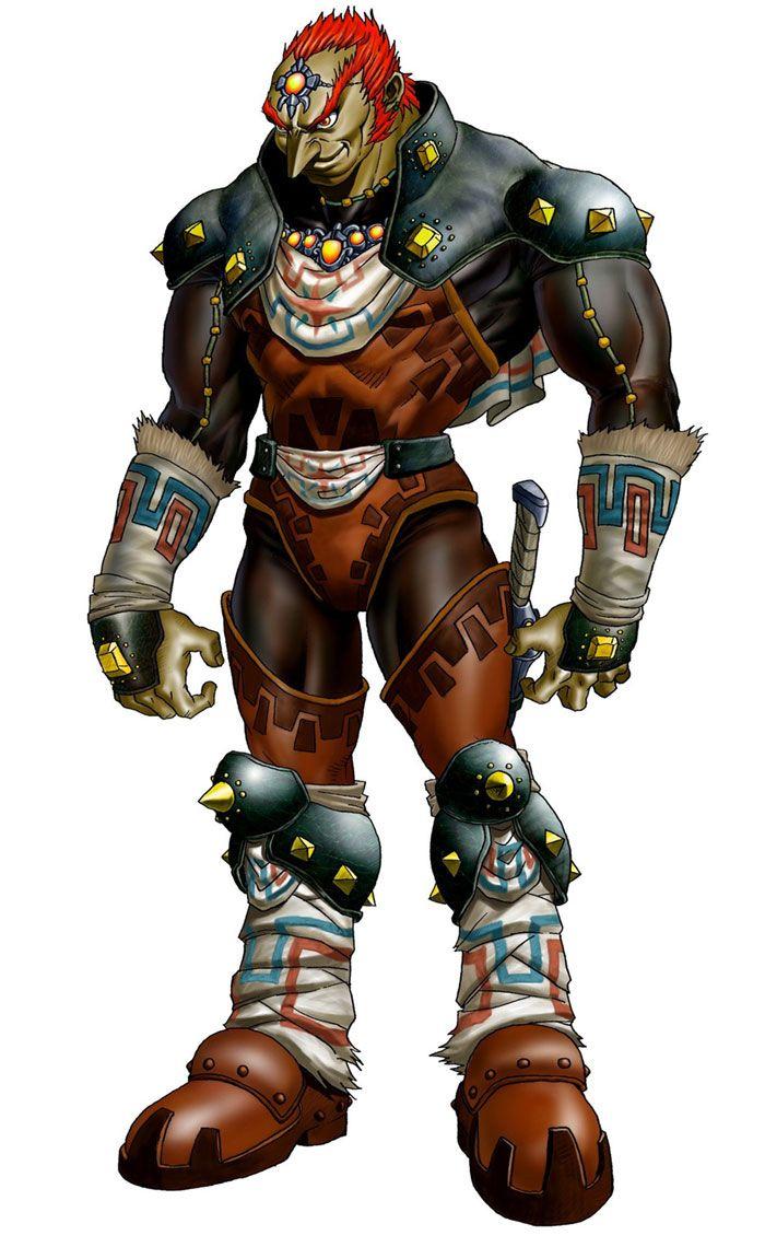 Great King Of Evil Ganondorf The Legend Of Zelda