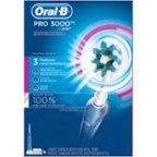 Oral-B PRO 3000 Electric Rechargeable Power Toothbrush Powered by Braun, + MAIL IN REBATE AVAILABLE