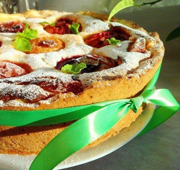 Шустрый Повар | Рецепты | КулинарияСтрасбургский пирог с персиковым настроением