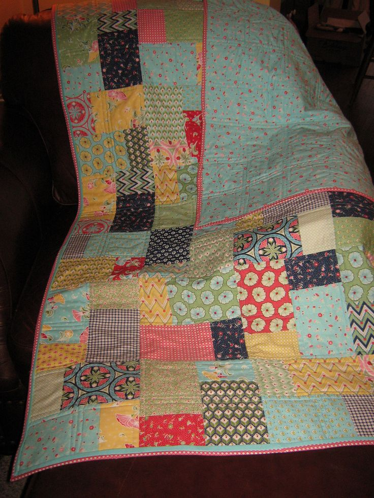 25 best Quilts - Double Slice Layer Cake images on Pinterest Layer cakes, Layer cake quilts ...