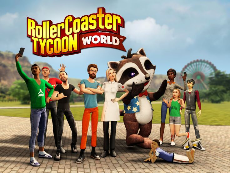 Preview:  RollerCoaster Tycoon World