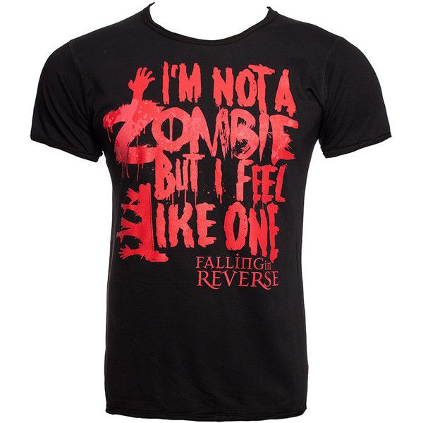 Falling In Reverse Zombie t shirt, band t shirts, Falling In Reverse merch UK ($26) found on Polyvore