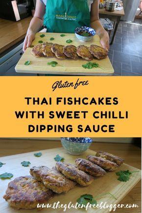 Gluten free Thai Prawn Fishcakes. Find the full recipe at www.theglutenfreeblogger.com