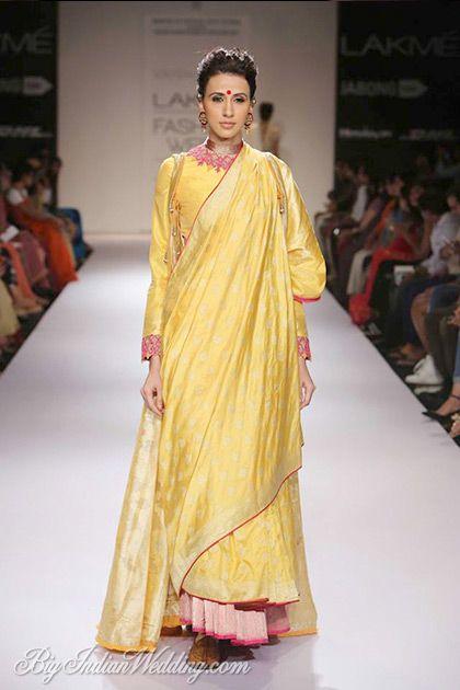 Vaishali S at Lakme Fashion Week W/F