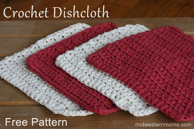 """If you've played around with the Tunisian Simple Stitch and are ready to make something fun with it, the Tunisian Pebbles Dishcloth (or washcloth!) is the answer! It takes simple variegated kitchen cotton and makes it amazing. Do you see the way the little red and yellow """"pebbles"""" pop up on the surface?"""
