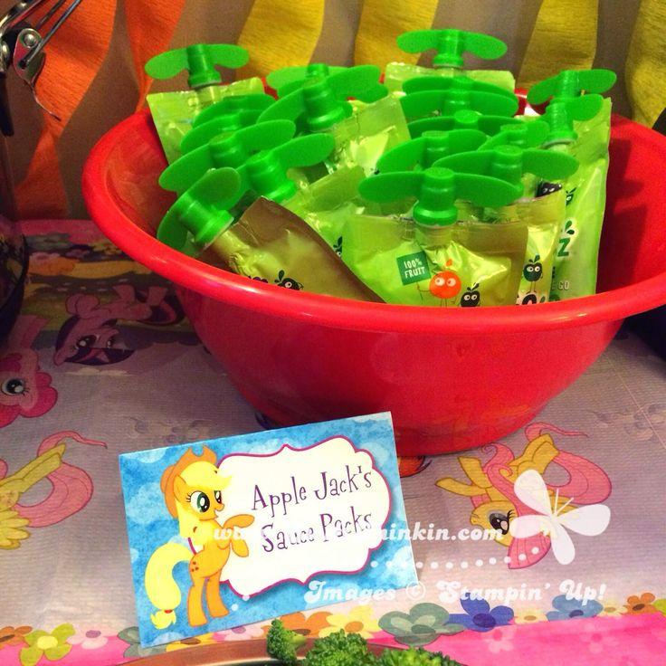 Swift Thinkin': My Little Pony Party Food