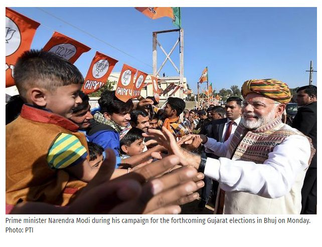 Ahmedabad: Kicking Bharatiya Janata Party's (BJP's) campaign in Gujarat into high gear, Prime Minister Narendra Modi on Monday challenged Congress vice-president Rahul Gandhi to explain why his party applauded the release of a terrorist in Pakistan and why he hugged the Chinese ambassador at the height of the Doklam standoff.  Get #NarendraModi & #BJP #latestnews and #updates with - http://nm4.in/dnldapp http://www.narendramodi.in/downloadapp. Download Now.