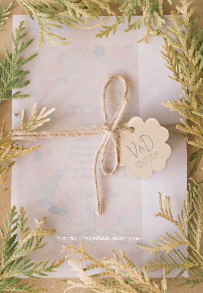 Фото 3197353 в коллекции Свадебные пригласительные - Y-studio - приглашения и аксессуары