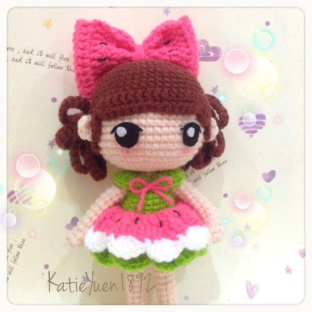 Crochet Doll Pattern Cute : 1000+ images about crochet toys on Pinterest Free ...