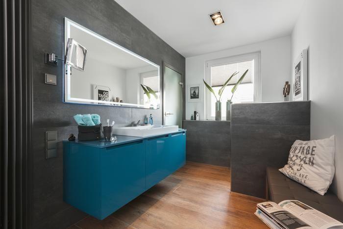 Petrolfarbe Die Trendfarbe Zum Einrichten Das Haus Badezimmer Petrol Badezimmer Badgestaltung