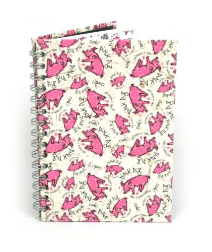 Pink-Pig-A5-Random-Pig-sketchbook-150gsm-white-paper-70-pages-35-leaves-74591 Also available on www.the-pink-pig.co.uk