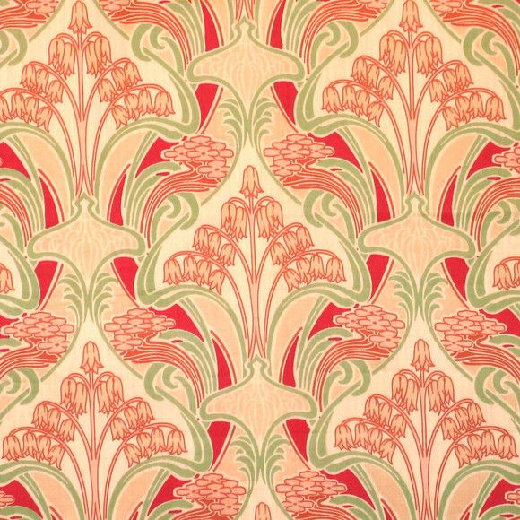 198 best Art Nouveau - textiles images on Pinterest   Art nouveau ...