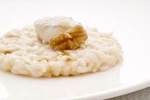 Risotto mantecato alla 7 luppoli, pecorino e noci - Birrificio Angelo Poretti