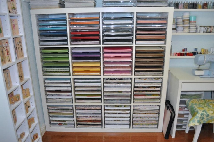 Craft Room Storage Solutions: 16 Best 12x12 Paper Storage Images On Pinterest