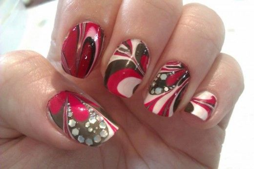 Cool Nail Polish Tricks: Tips for Successful Water Marble DIY Nail Art Designs for Beginners