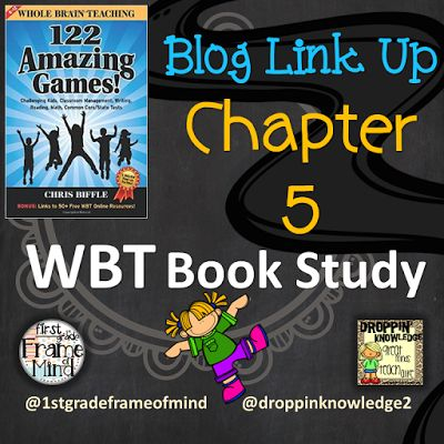First Grade Frame of Mind: WBT's New Book - 122 Amazing Games Chapter 5