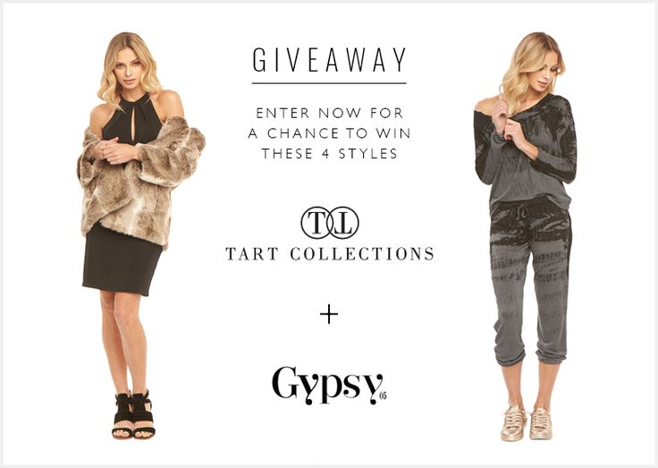 Enter to win 4 different styles from TART Collections and Gypspy05 valued over $600