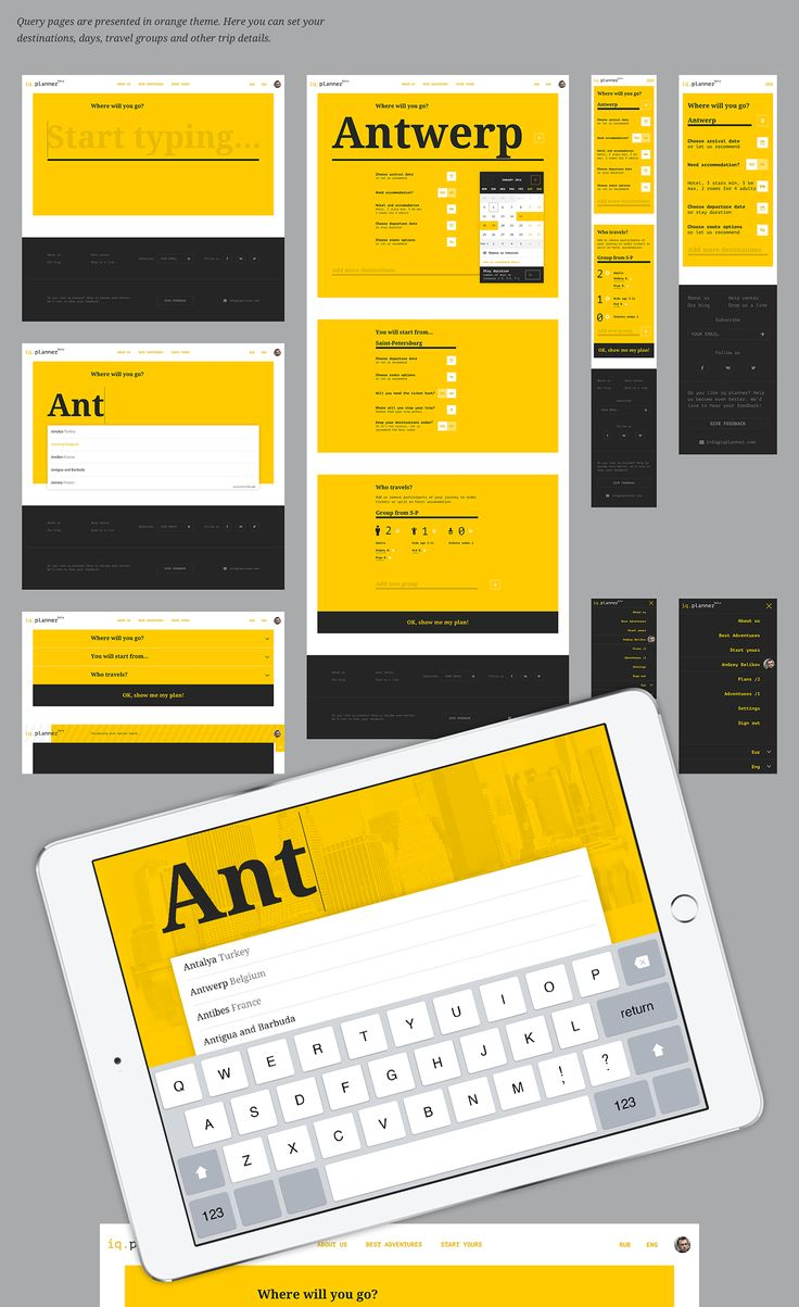 Identity, web design and art direction for IQPlanner online service. More layouts and project information coming soon.