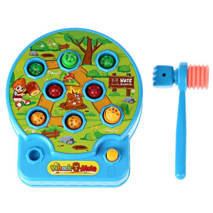 Sevimli Bebek Whac-A-Köstebek Köstebek Köstebek cebinden Elektrikli Müzik Çalma Hamster Oyun Makinesi Güzel Elektronik Plastik çocuk Oyun Oyuncak
