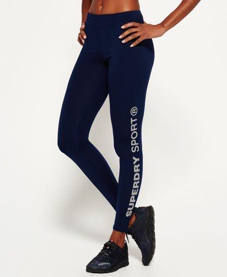 Superdry Core Gym Leggings Navy  😻
