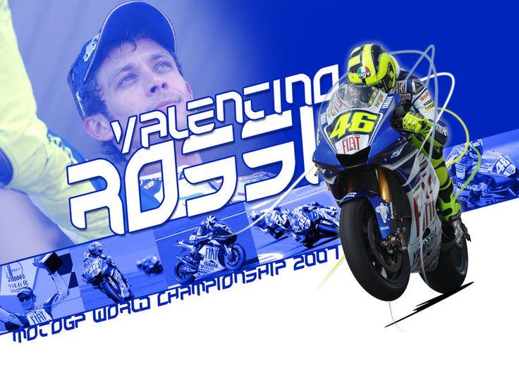 Valentino Rossi - MotoGP 2007 by EvanDeCiren.deviantart.com on @DeviantArt