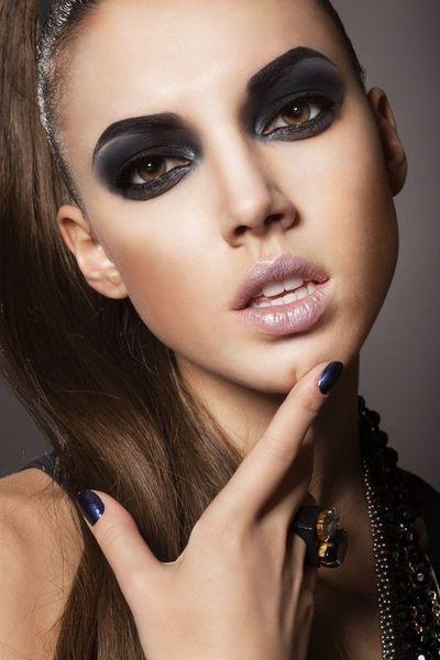 makijaż zima 2014