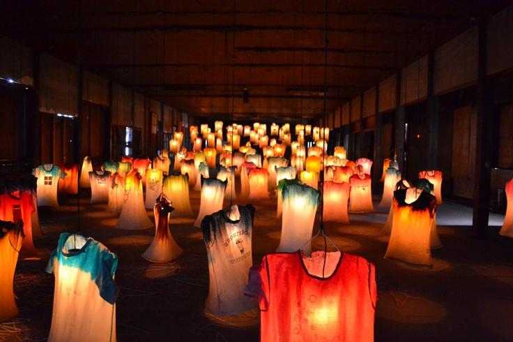 """2012 Echigo-Tsumari Art Field  """"Installation for tunan -tsunagari-"""""""