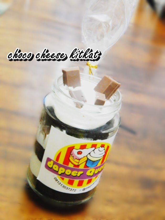 Dapoer Queen: Choco Cheese KitKat in Jar