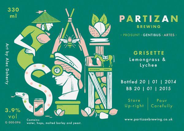 Partizan Brewing   Saison G000 096