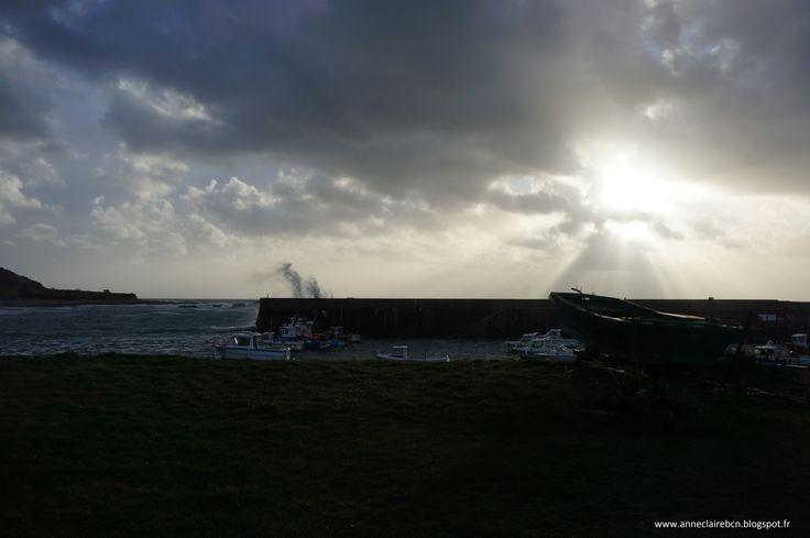 Goury avant la tempête, before the storm 2 novembre 2013