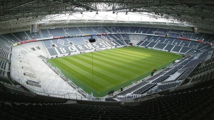 Borussia-Park – Borussia M'Gladbach Capacity: 54.049