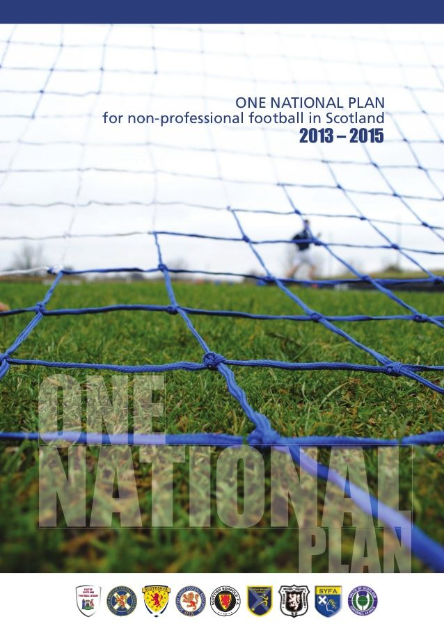 One National Plan - for non-professional football in Scotland 2013-2015 by Scottish FA via slideshare