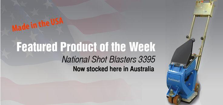 National Shot Blaster 3395. Now stock in Australia!