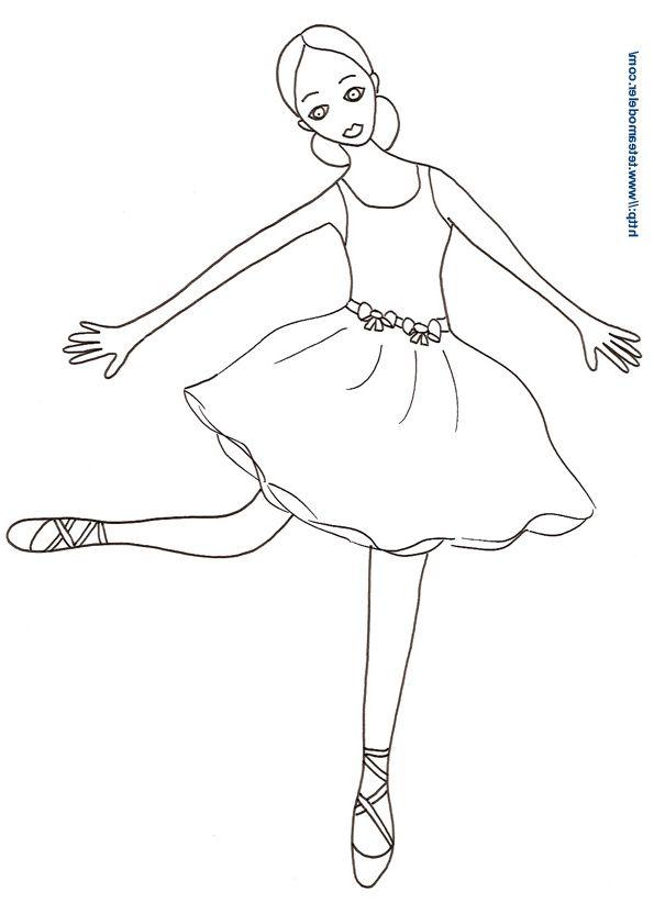 15 Original Coloriage Danseuse Stock Coloriage Danseuse Coloriage Barbie Coloriage
