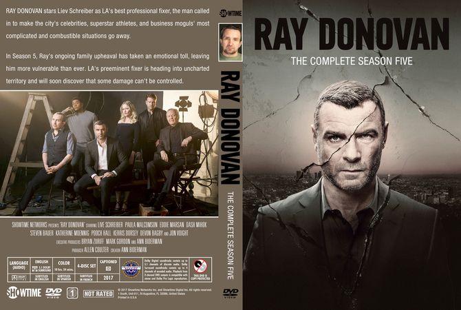 Ray Donovan 2017 Season 5 Dvd Custom Cover Dvd Cover Design Custom Dvd Dvd Covers