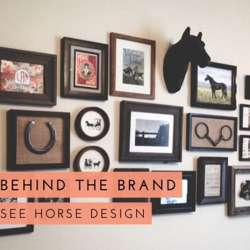 Behind The Brand: See Horse Design - an equestrian themed office tour