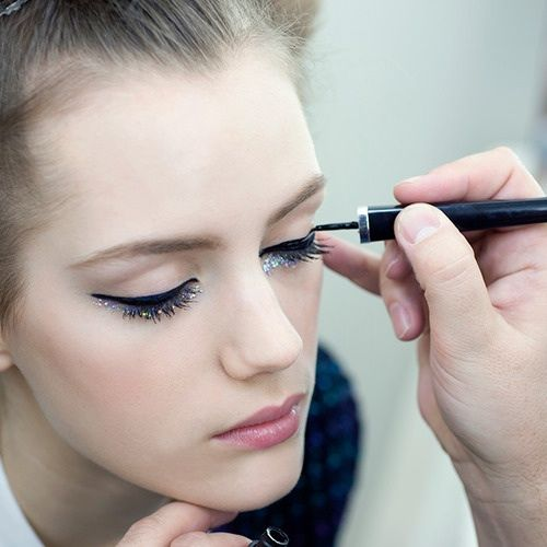 Esther Heesch - Makeup at Chanel Couture